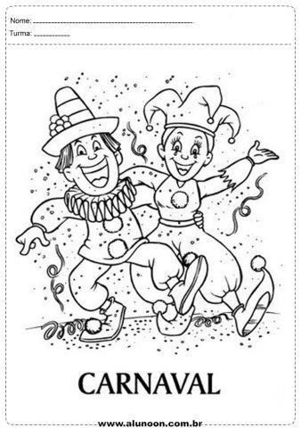 37 Atividades De Carnaval Para Imprimir Educacao Infantil Aluno On