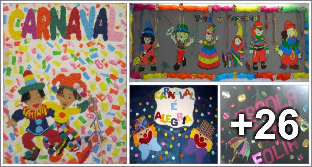 30 Ideias de Murais para o Carnaval