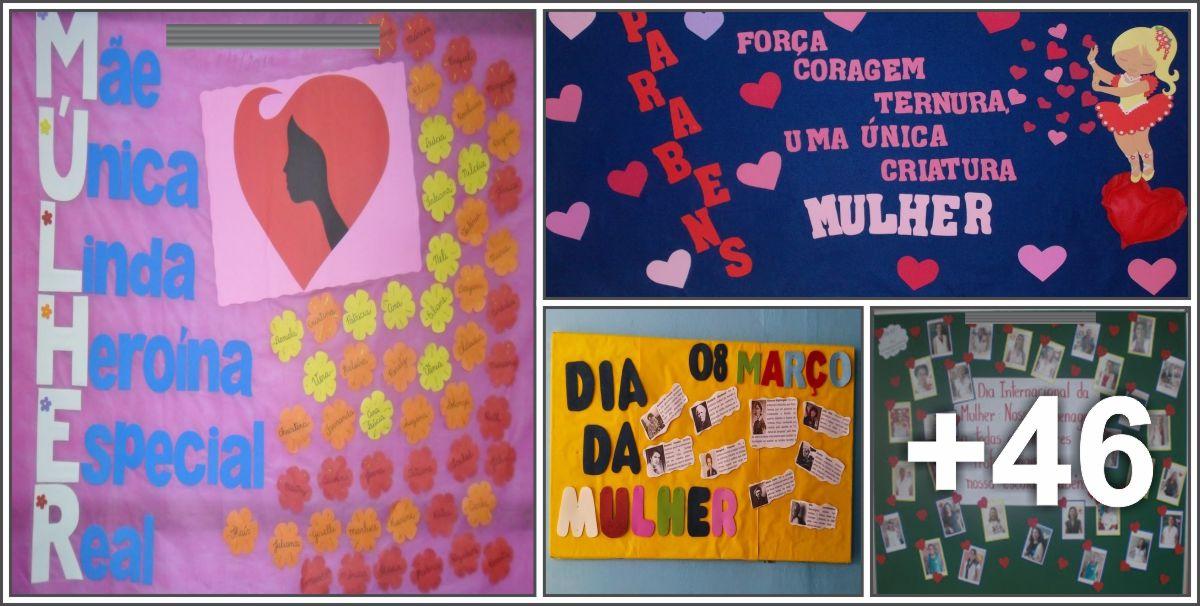 50 murais par o dia das mulheres aluno on for Mural sobre o transito