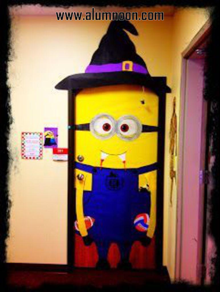 33 Halloween doors for preschool Aluno