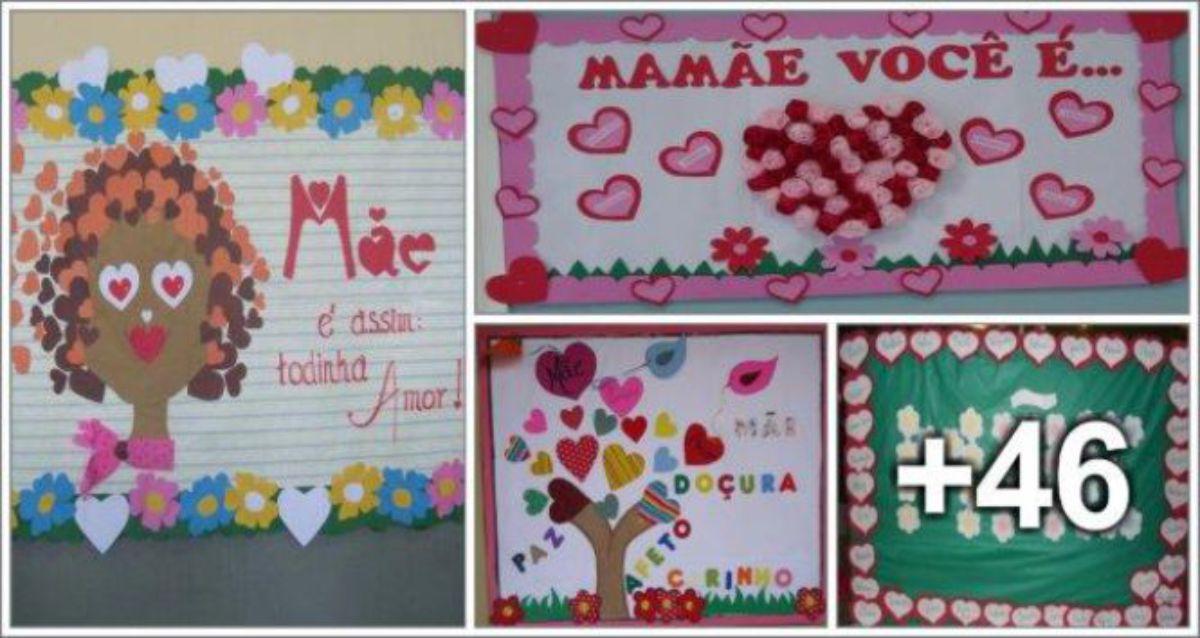 50 Ideias de Murais para o Dia das Mães