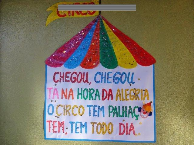 50 Ideias De Murais Para O Dia Do Circo 27 De Março Aluno On
