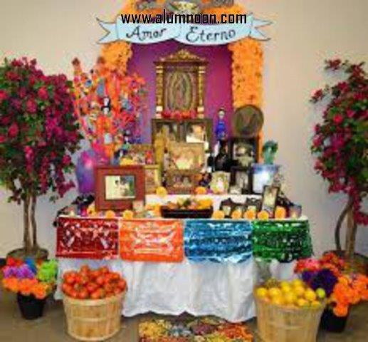 38 Decoraciones De Altares Para El Día De Muertos Alumno On