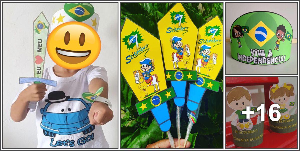 20 Ideias para o Dia da Independência do Brasil