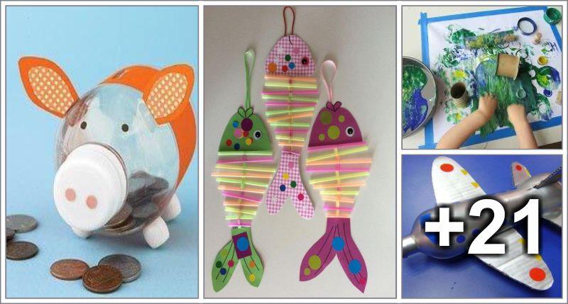 Actividades Con Materiales Reciclables Educacion Preescolar - Manualidades-con-objetos-reciclados-para-nios