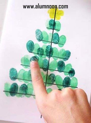34 Manualidades de arboles de navidad para nios Educacin
