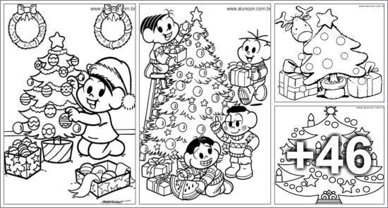 50 Desenhos de Árvores de Natal