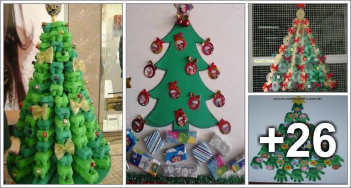 30 Ideias de Árvores de Natal