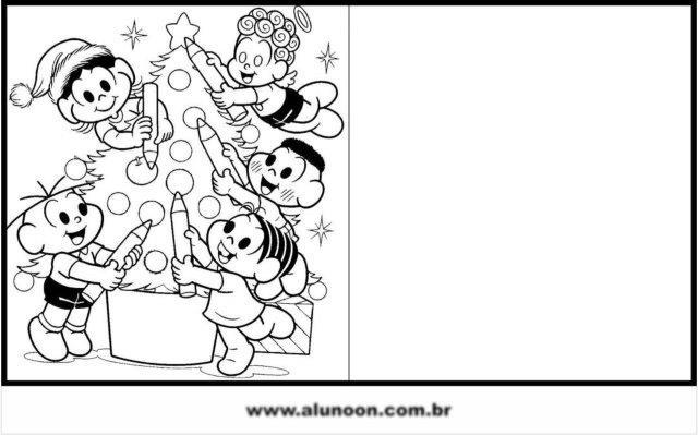 23 Cartoes De Natal Para Imprimir E Colorir Educacao Infantil