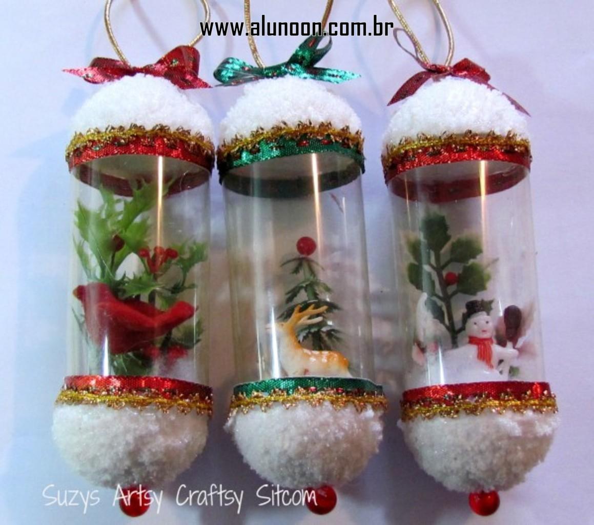 Оригинальные новогодние игрушки своими руками на уличную елку