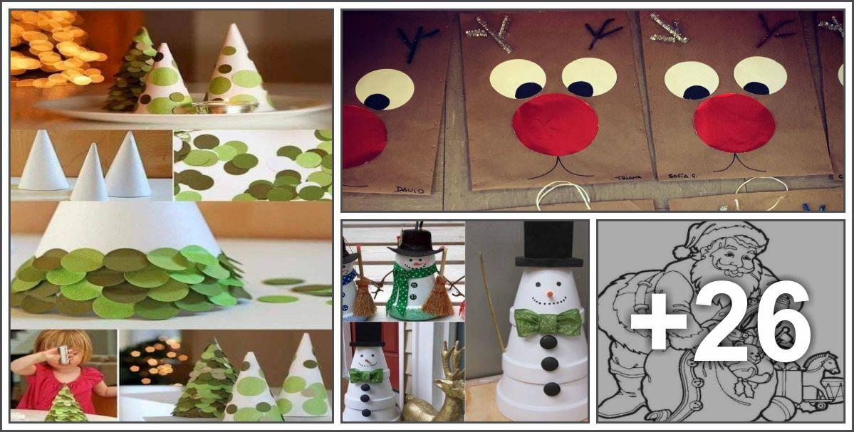 30 Lembrancinhas, atividades e decorações de Natal