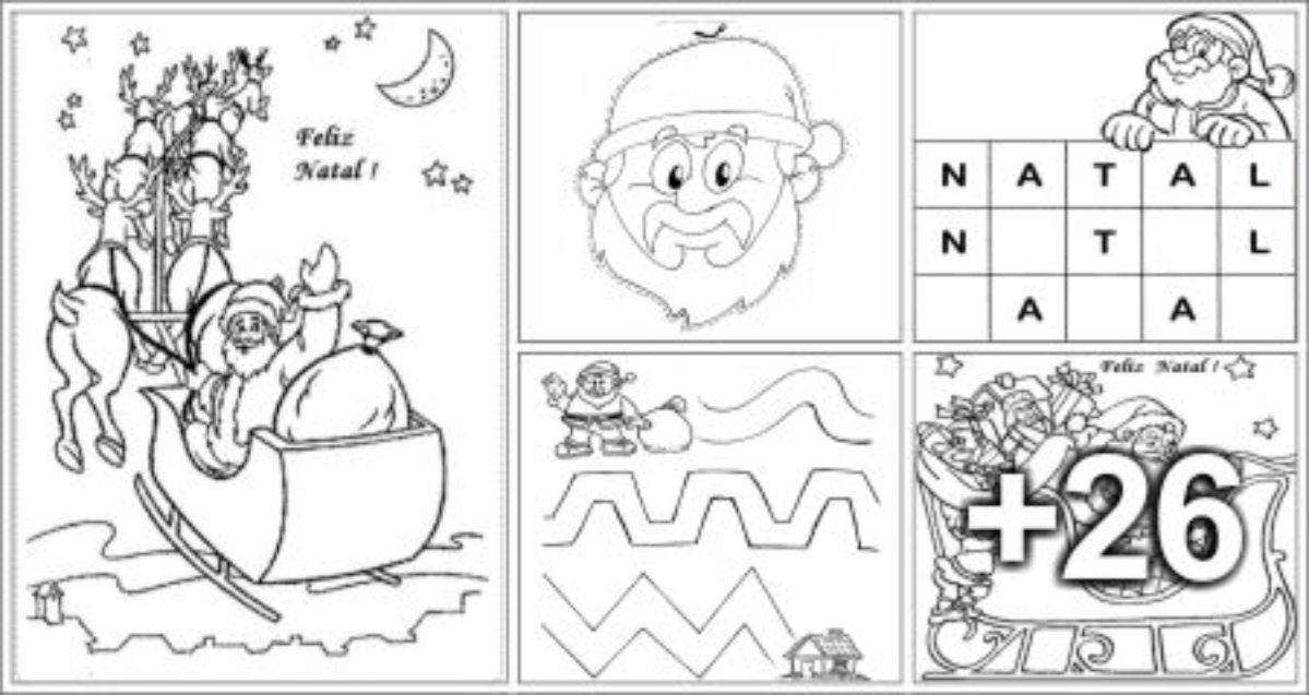 31 Atividades de Natal para Imprimir