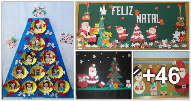 Atividades para educa o infantil aluno on for Mural sobre o natal