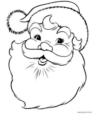 37 Desenhos Do Papai Noel Para Colorir Educacao Infantil Aluno On