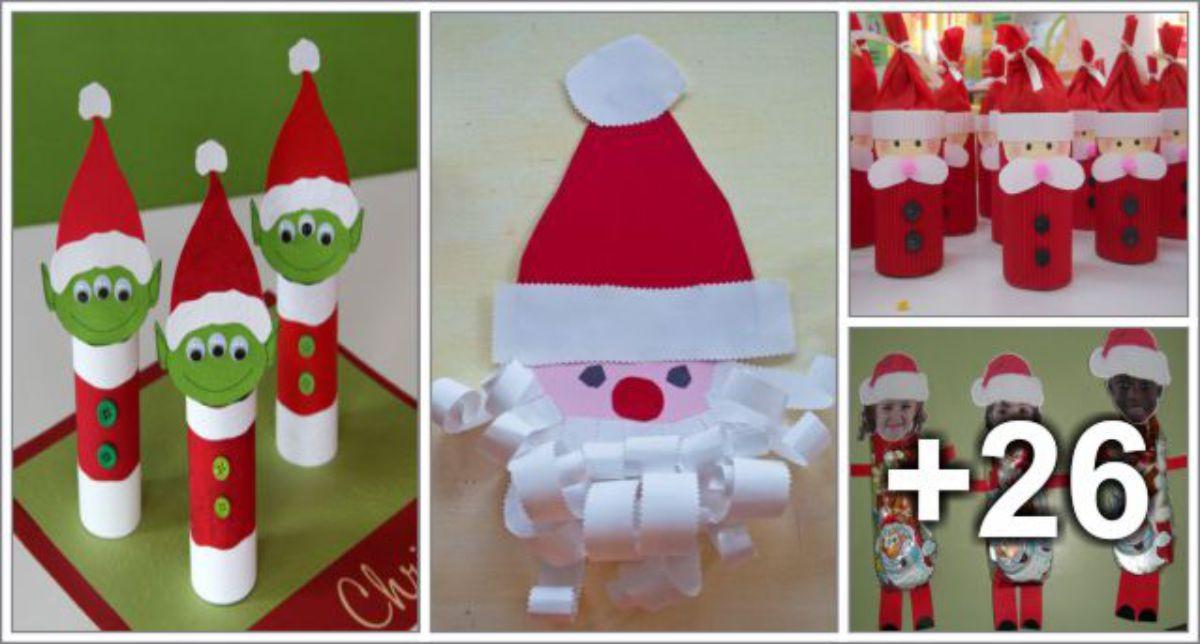 30 Manualidades de Papai Noel
