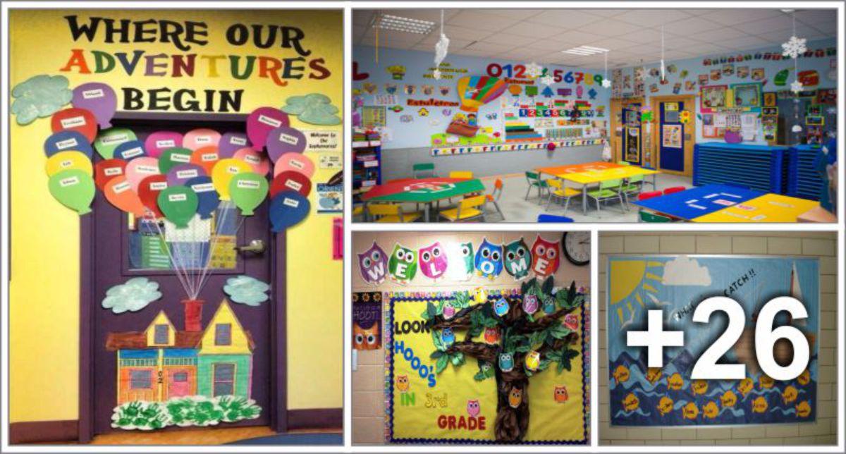 Decorações de sala de aula para volta as aulas