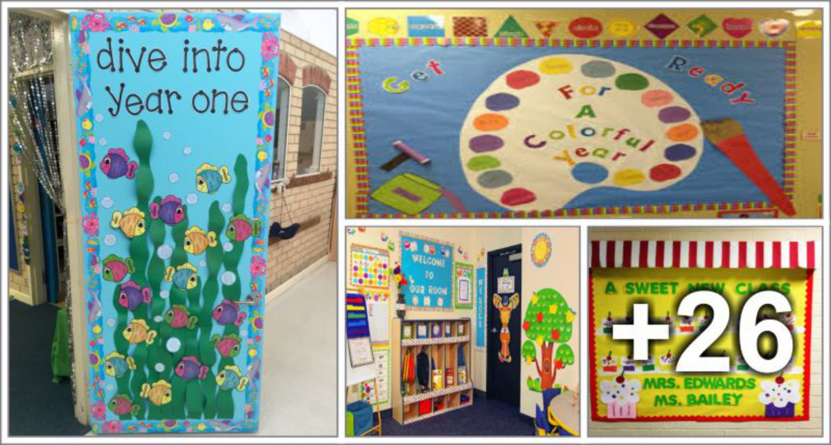 30 Back to school room decorations ideas & 30 Back to school room decorations ideas - Preschool - Aluno On