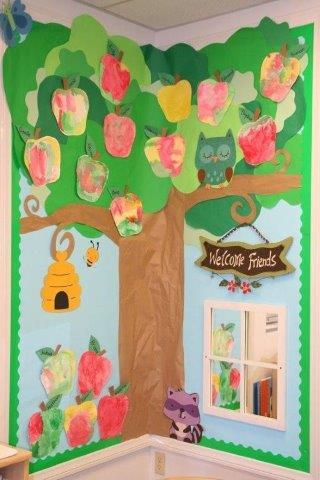 Arboles Para Decorar Aulas.30 Ideas De Decoracion De Aula Tema Arboles Alumno On