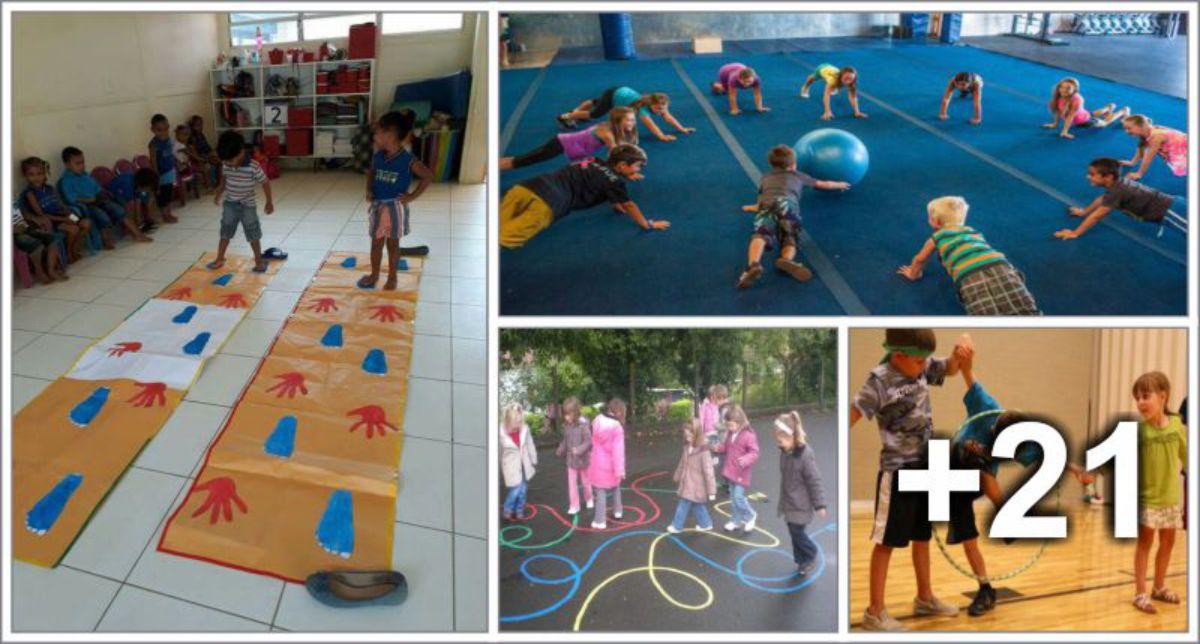 25 Juegos para nios al aire libre Educacin Preescolar Alumno On