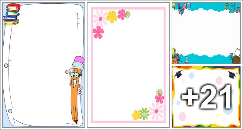 25 free printable borders and frames preschool aluno on 25 free printable borders and frames altavistaventures Images