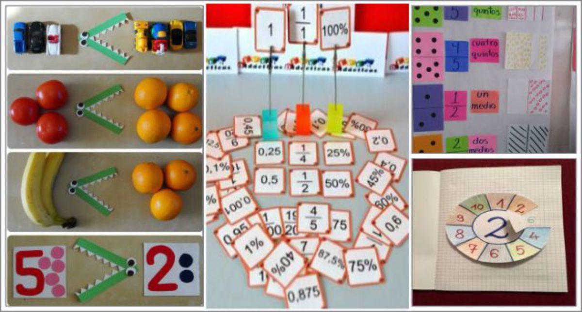 34 Ideias para Trabalhar Somas, Multiplicações, Frações, Maior e Menor