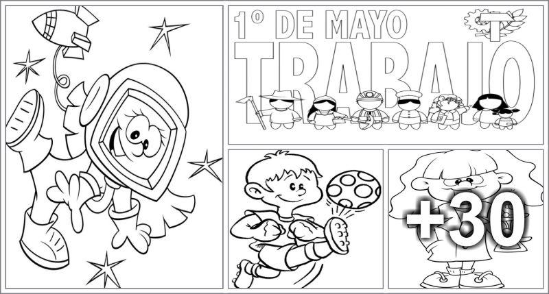 Coloring pages printable - Preschool - Aluno On