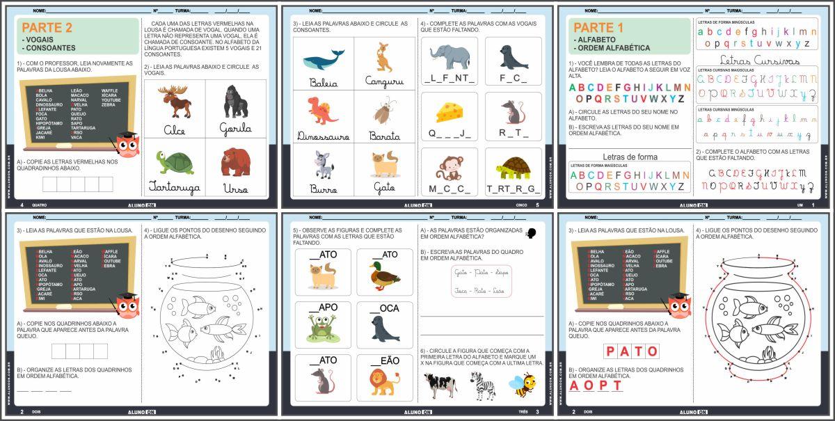 Apostila de alfabetização para o 2º ano do fundamental