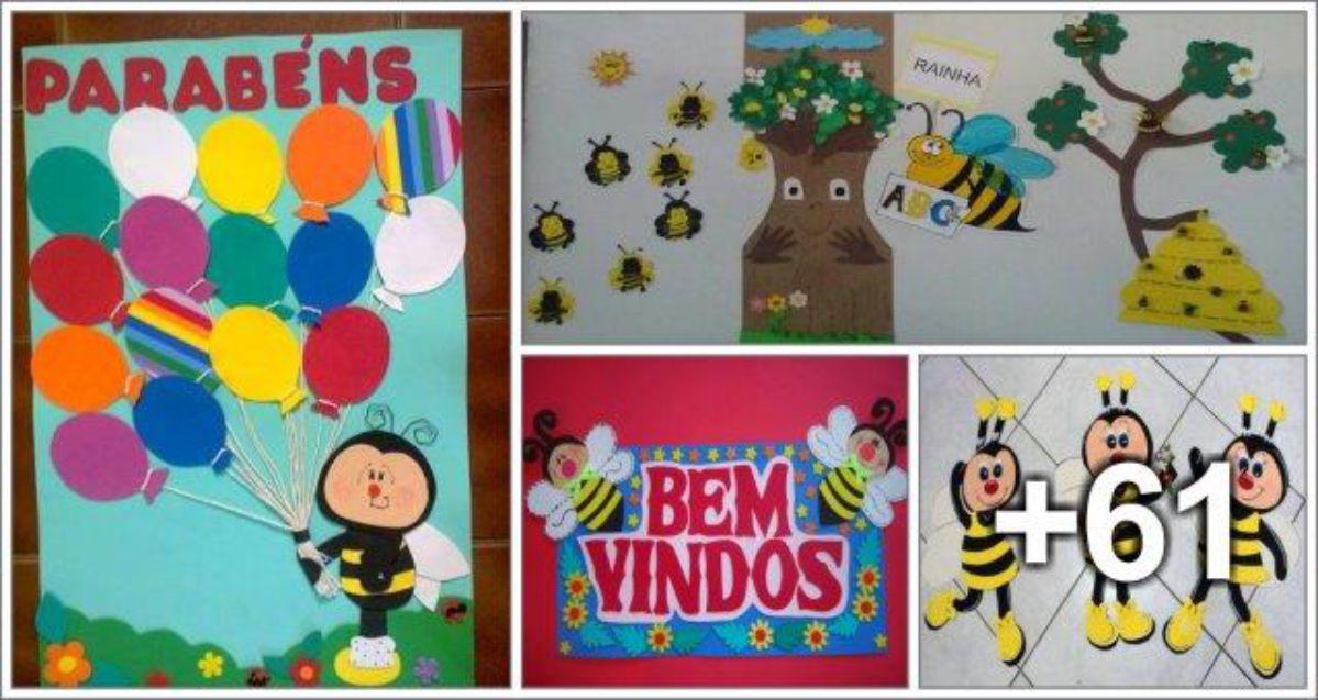 65 Ideias de decoração com Abelhas