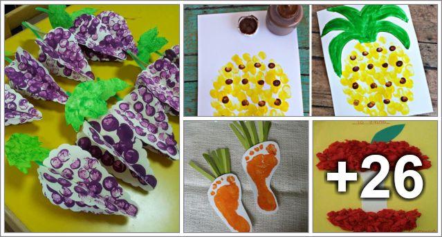 Ideas De Actividades Educacion Preescolar Alumno On - Manualidades-con-frutas-para-nios
