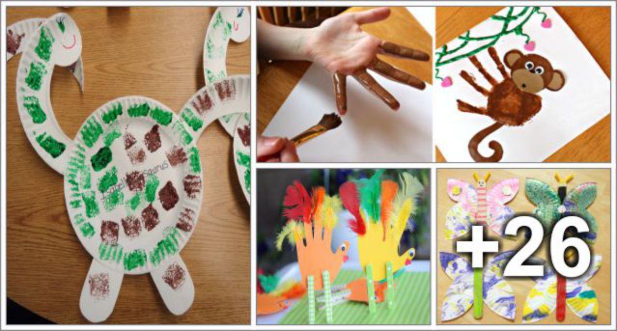 30 Ideias de Arte usando diferentes materiais