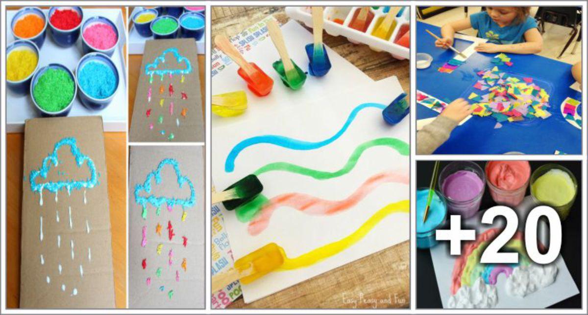 24 Ideias para aula de artes