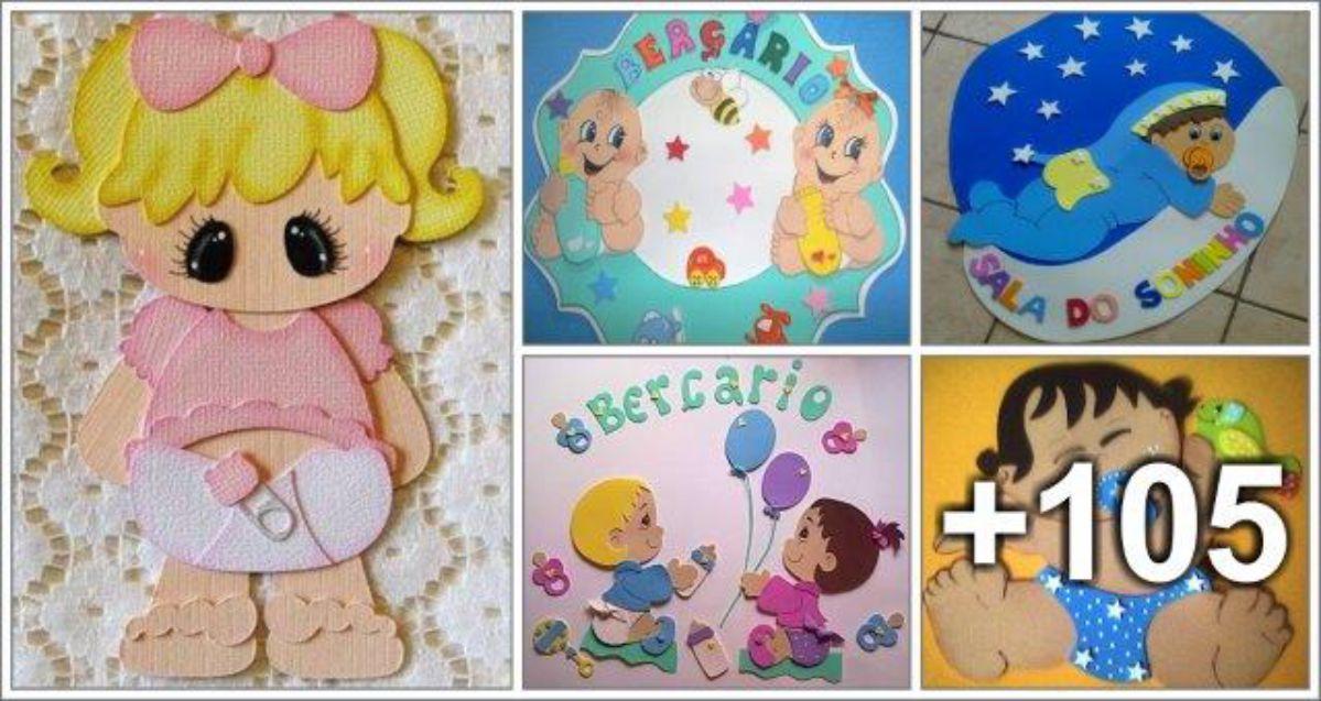 109 Ideias de Decoração com Bebês