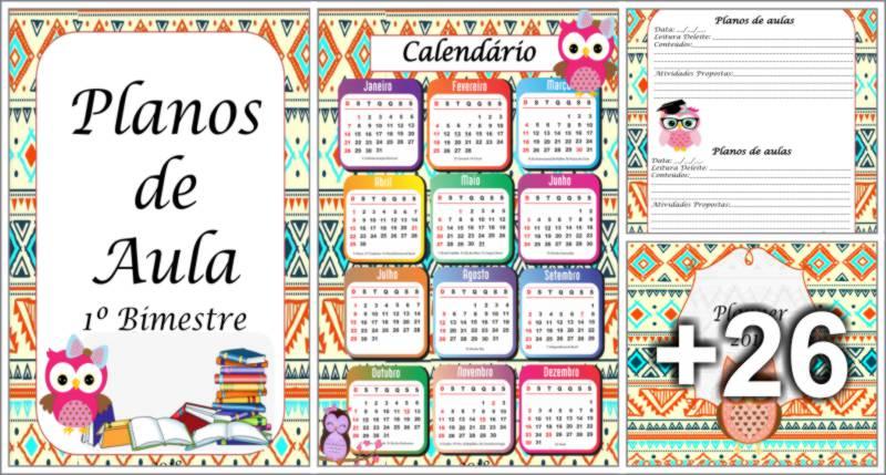 Caderno de Planejamento 2018 - Tema Corujinhas