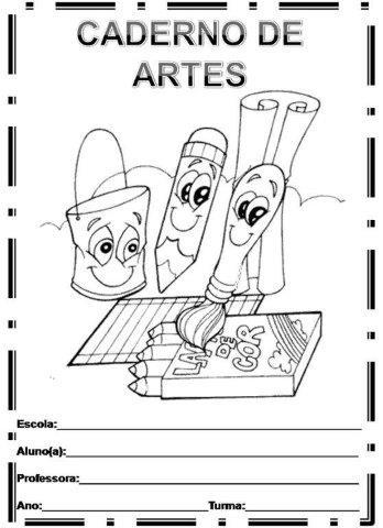 40 Capas De Caderno Para Imprimir Educacao Infantil Aluno On
