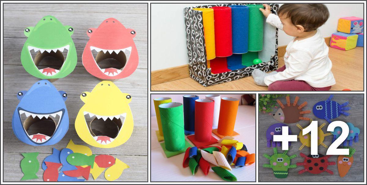 16 Atividades lúdicas para ensinar as cores