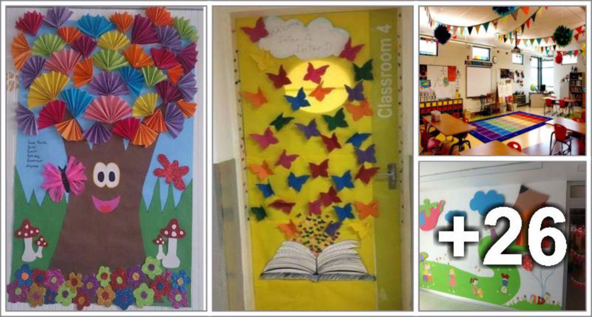 30 Ideias de decoração para sala de aula
