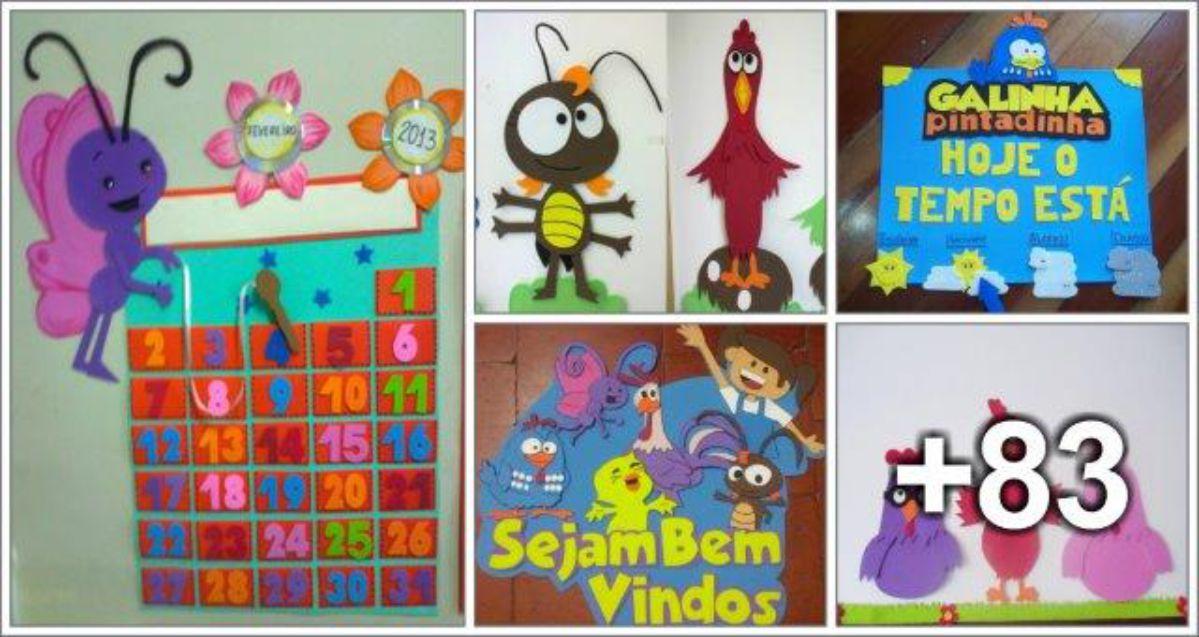 88 ideias de decoração com a Galinha Pintadinha