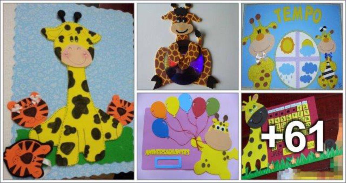 66 Ideias de decoração com Girafas