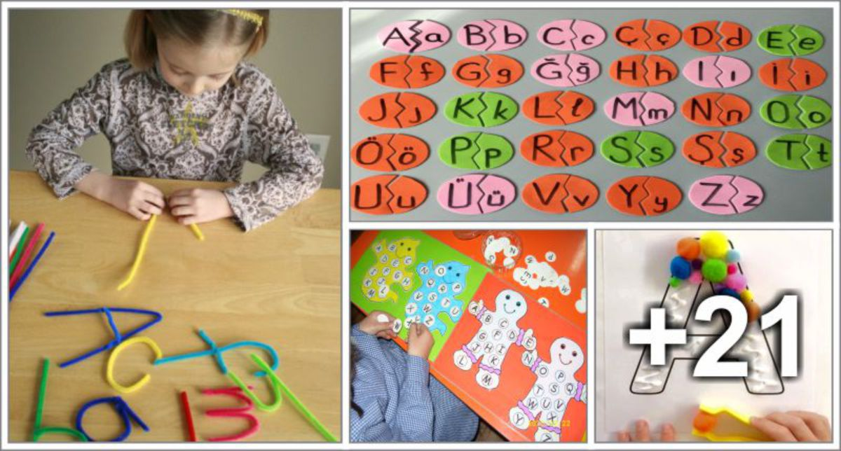 25 Jogos para ensinar o alfabeto