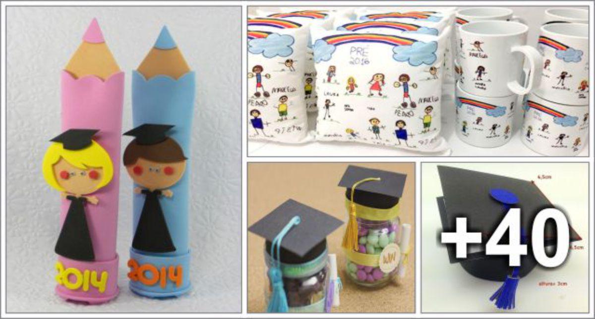 44 Ideias de Lembrancinhas para Formatura Infantil