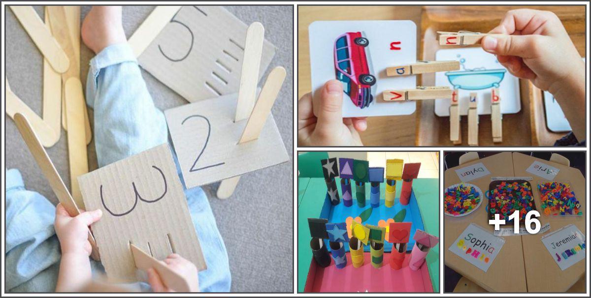 Diversas atividades lúdicas para crianças