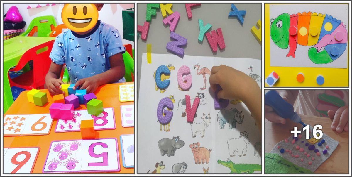 20 Atividades lúdicas e motoras para crianças pequenas