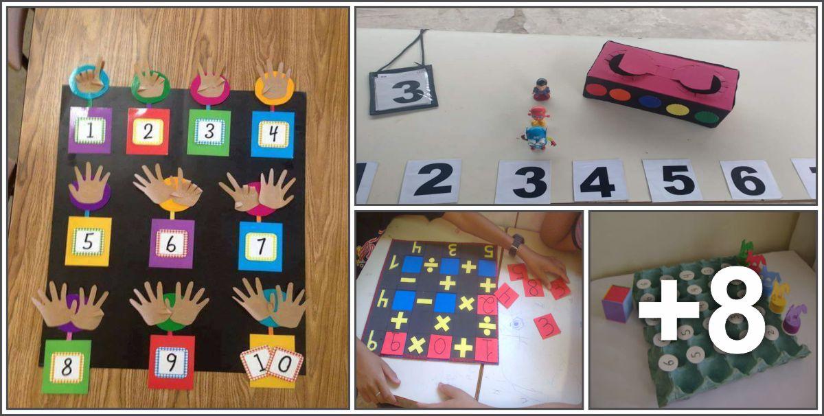 12 Atividades com números e operações básicas