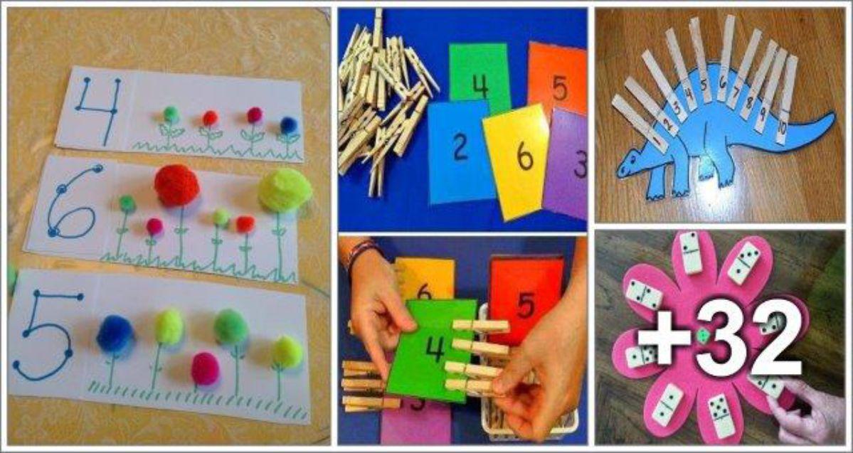 36 Atividades de Matemática para Crianças