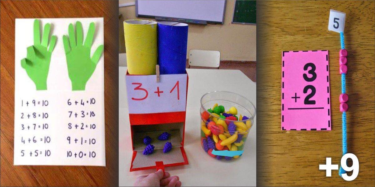 12 incríveis ideias para ensinar adição para crianças