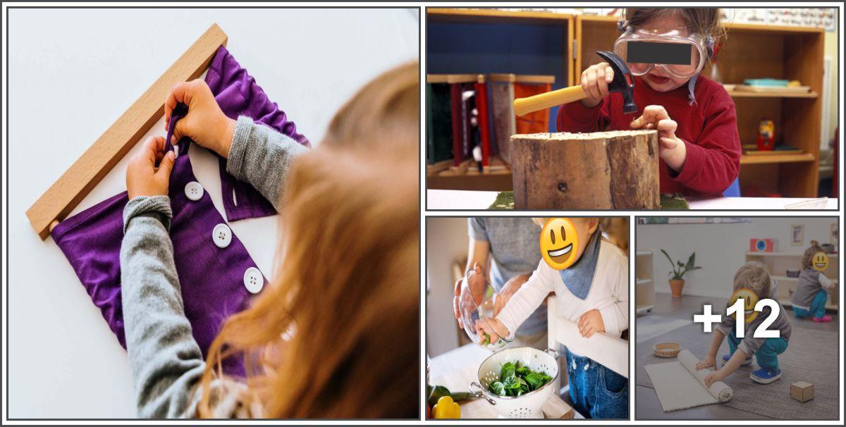 16 Ideias de Atividades Montessorianas
