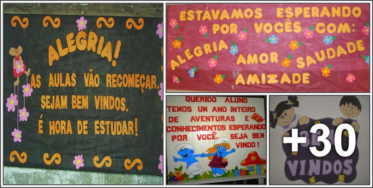 34 Ideias de Murais de Volta às Aulas