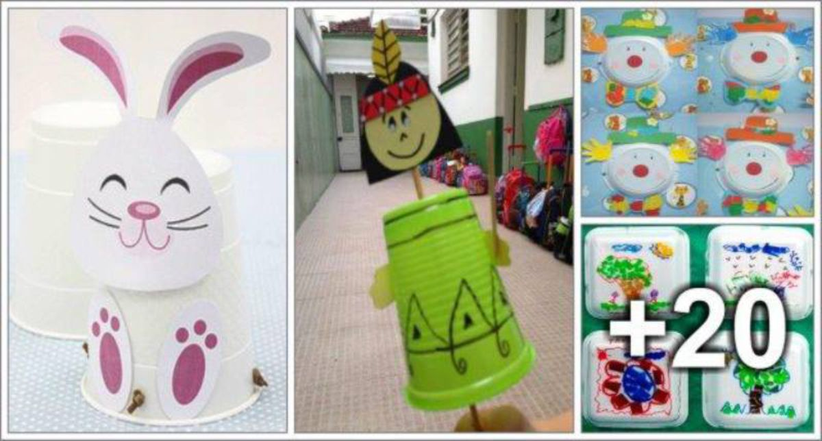 24 Recycled Craft Ideas For Kids