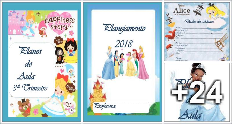 Planner princesas 2018