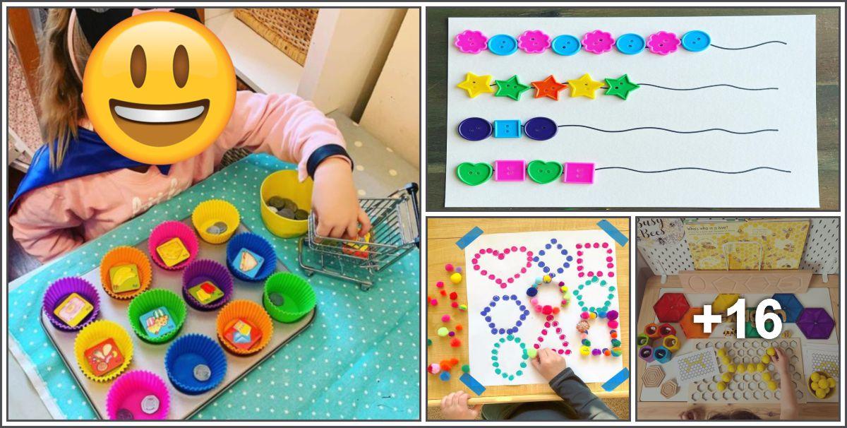 20 Atividades psicomotoras para crianças pequenas